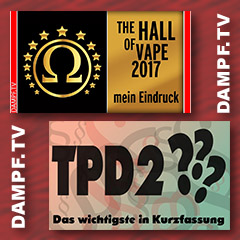 TPD2 THE HALL OF VAPE 2017
